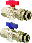 Isolation Valve with Thermometer