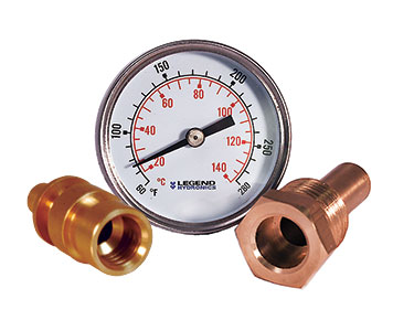 Temperature Gauges with Thermowell