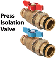 LegendPress™ Isolation Valve