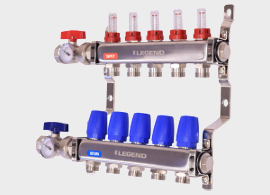 M-8330 Stainless Steel Manifold