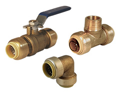 Legend Insta-Loc II™ Ball Valves and Fittings